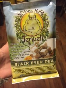 Taste of the south.  Black Eyed Pea Tempeh from Asheville, NC.