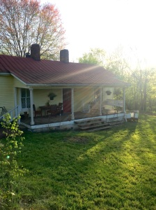 River House Porch.